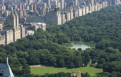 Marathon im Big Apple: Ziel ist der Central Park, eine wunderschöne Grünfläche umgeben von Wolkenkratzern