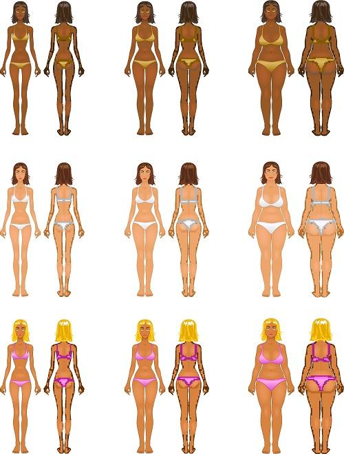 So kommen sie zur Bikinifigur: Sie ziehen einen Bikini an