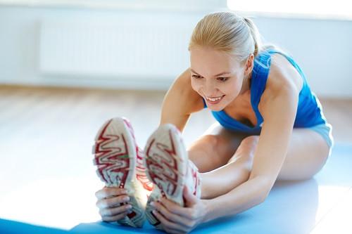 Dehnen mit Stretching Übungen
