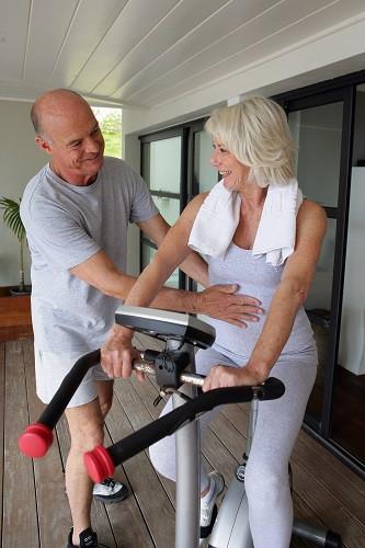 Mit Sport werden Sie fit im Alter