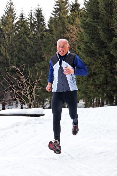 Fitnesstrend im Januar laufen, joggen