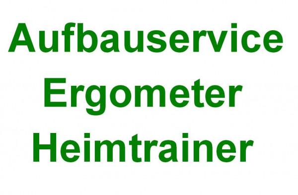 Aufbauservice Ergometer / Heimtrainer in Deutschland