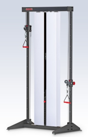 SCHNELL Universal-Zugapparat doppelt mit Metallverkleidung (Wandverankerung)