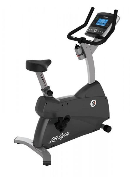 Life Fitness Ergometer C1 mit Go Konsole inkl. Brustgurt
