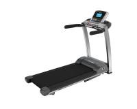 Life Fitness Laufband F3 mit Go Konsole inkl. Matte und Brustgurt