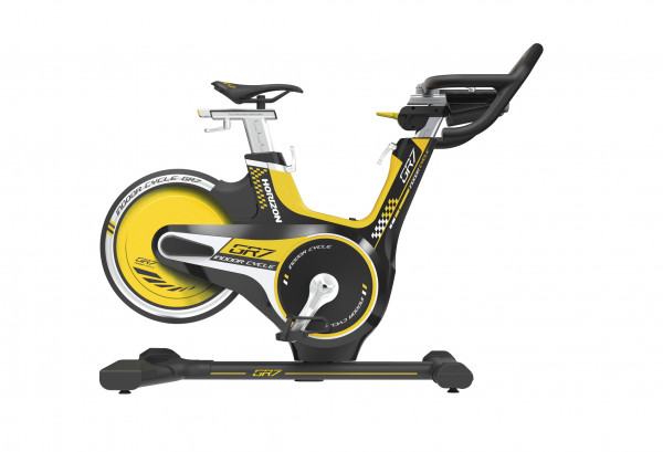 Horizon Fitness Indoor Cycle GR7 mit Konsole