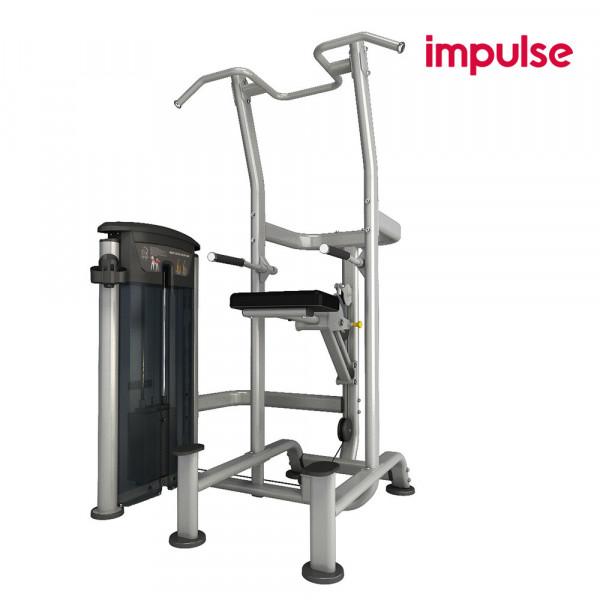 Impulse Fitness IT9520 Gewichtsunterstützte Klimzug- / Dip-Kombination ( 134 kg )