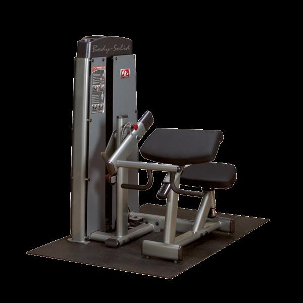 Body-Solid Pro Dual Bizeps- und Trizepsmaschine Gewichtsblock 100 kg