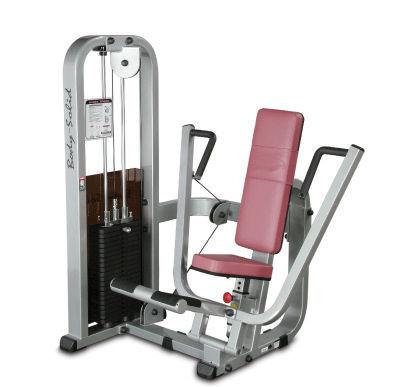 Body-Solid Bankdrück-Maschine, sitzend mit 95kg Gewichtspaket