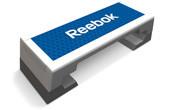 Reebok Step Stepper Studio grau/blau - professional incl. DVD
