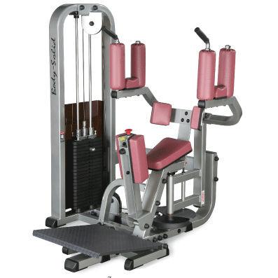 Body-Solid Pro Club Twister-Maschine mit 95kg Gewichtspaket