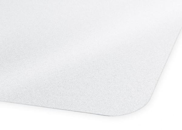 Transparente Vinyl-Unterlegmatte 120 x 130 cm