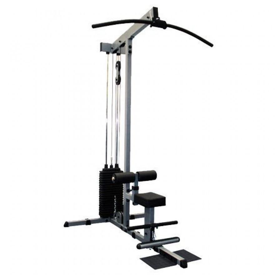 Body-Solid Lat- /Ruderzug mit Steckgewichten Gewicht (130kg-Paket)