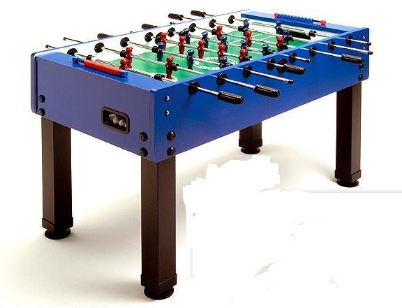 Fußballkicker MASTER-CUP blau