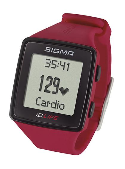 Sigma Herzfrequenzmesser iD.LIFE Activity Tracker -rot-