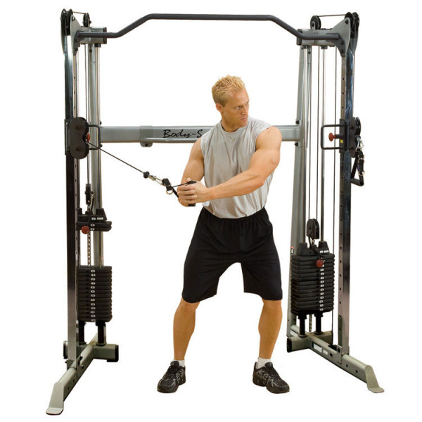 Body-Solid Functional Training Center / Multi-Kabelzug GDCC-200 (2x75kg)