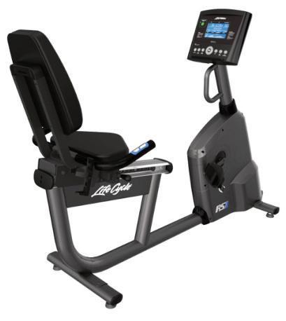 Life Fitness Liegeergometer RS1 mit Go Konsole inkl. Brustgurt