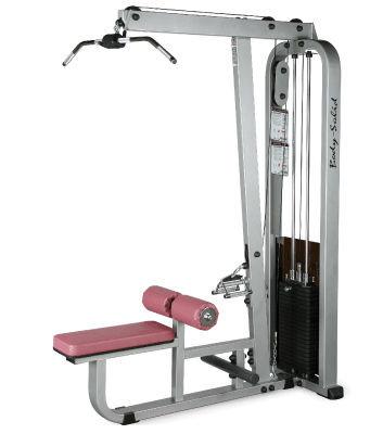 Body-Solid Latzug- / Ruder-Maschine mit 95kg Gewichtspaket