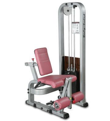 Body-Solid Beinstrecker-Maschine mit 95kg Gewichtspaket