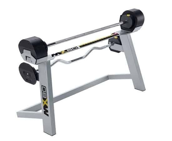 First Degree Fitness MX80 Langhantelset 9,8-36,4 kg