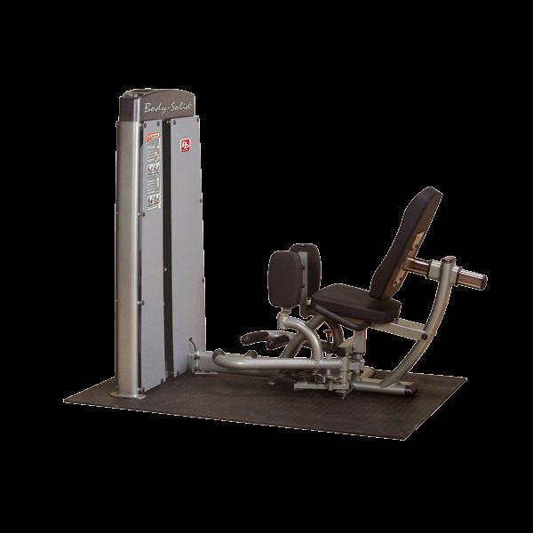 Body-Solid Pro Dual Ad- und Abduktorenmaschine Gewichtsblock 140 kg