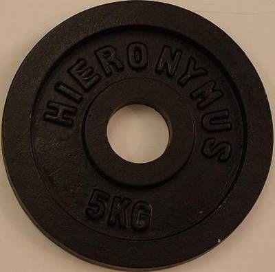 Gusshantelscheibe 52mm 5,0 kg