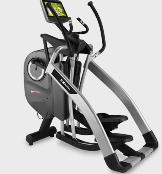 """BH Fitness LK8250 G825TVC 16"""" Full-HD Monitor prof. Ellipsentrainer mit verstellbarer Schrittlänge"""