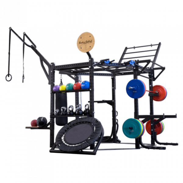 Body-Solid Short Rack Club Package 2,12m