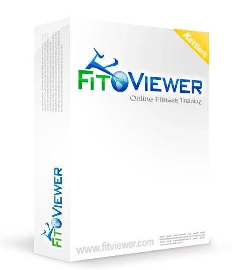 VITALIS-Uni-FitViewer BASIS - Set für für Kettler® Ergometer mit RS232 oder USB Schnittstelle