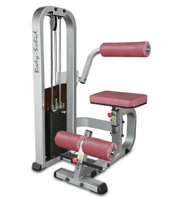 Body-Solid Rückenstrecker-Maschine mit 95kg Gewichtspaket