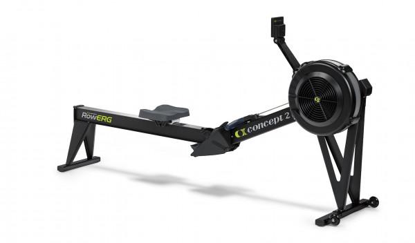 Concept2 RowErg mit Standardbeinen mit PM5 Farbe Schwarz