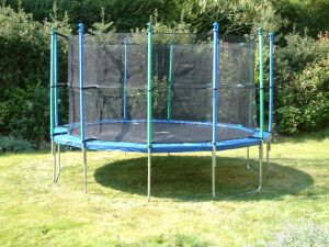 Sicherheitsnetz für Gartentrampolin Trimilin-Fun 30
