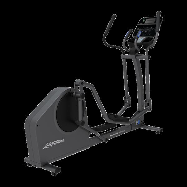 Life Fitness E1 Ellipsen Crosstrainer mit Track Connect-Konsole inkl. Pulsbrust