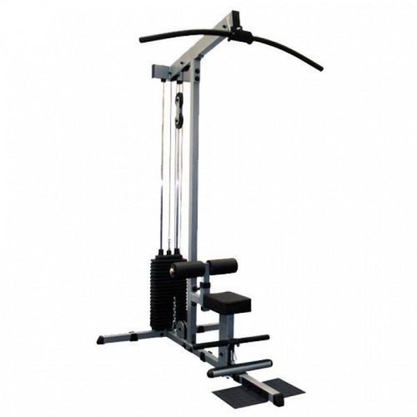 Body-Solid Lat- /Ruderzug GLM-84 mit Steckgewichten mit Steckgewichten Gewicht (100kg-Paket)