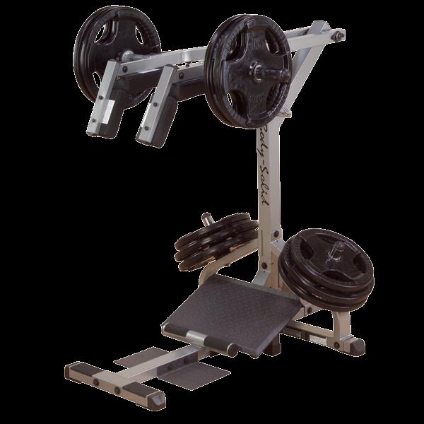 Body-Solid Kniebeugen- und Wadenmaschine GSCL-360