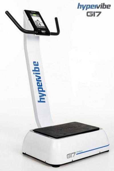 HyperVibe G17 Pro v2 Vibrationsplatte mit aktiven Seilzügen und Übungsanzeigen