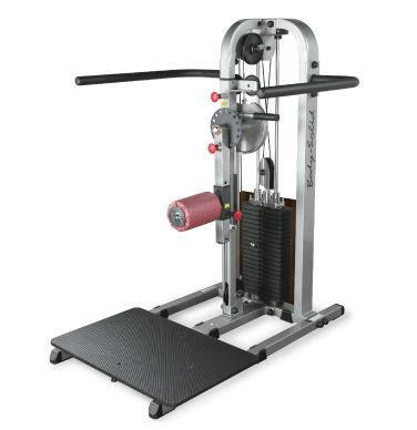 Body-Solid Multi-Hip-Maschine mit 95kg Gewichtspaket