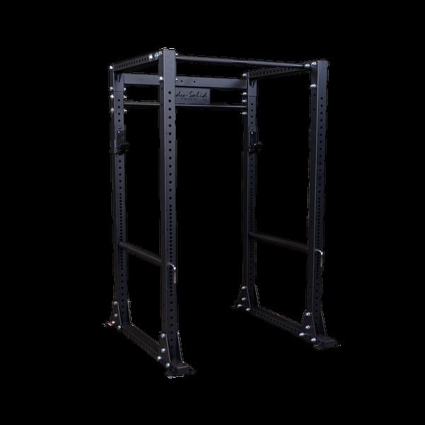 Body-Solid Power-Rack GPR-400 mit Lat- Ruder-Anbau 75kg-Gewichtsblock