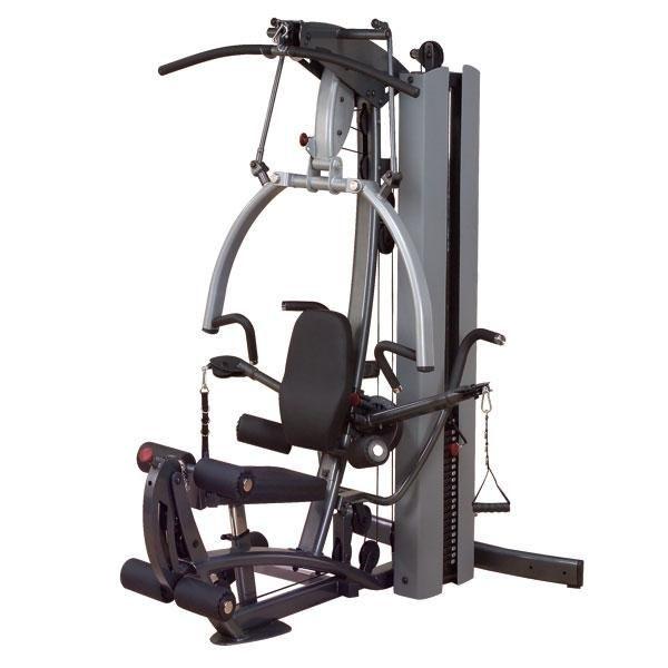 Body-Solid Ganzkörpertrainer / Home Gym Fusion 600 (100kg Gewichtsblock) mit Beinpresse