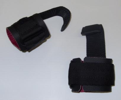 Zughilfen mit Metallhaken (Hot Grips)