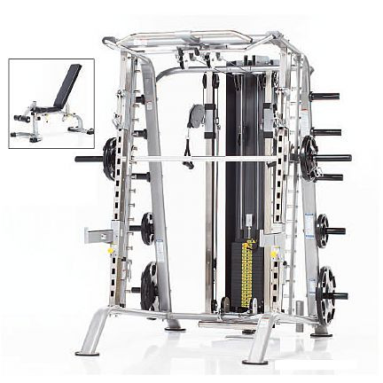 Tuff Stuff CSM-725WS Smith Machine/Multipresse