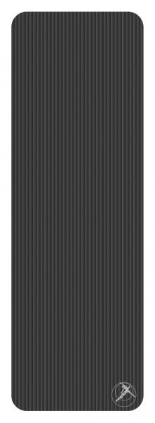 Gymnastikmatte Profigymmat Schwarz 180x60x1cm