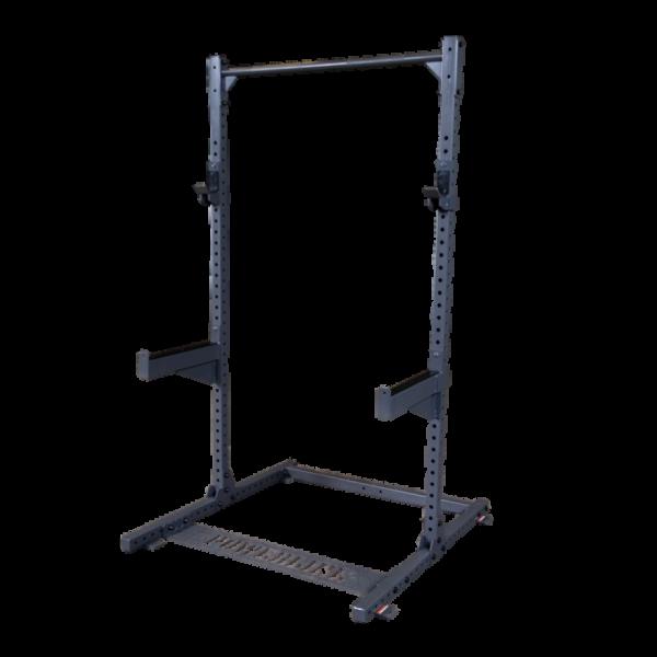 Body-Solid Powerline-Serie Half-Rack PPR500 + Latzug und Ruder-Anbau-+ Half-Rack Extension