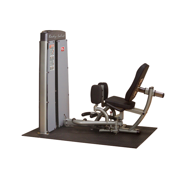 Body-Solid Pro Dual Ad- und Abduktorenmaschine Gewichtsblock 100 kg