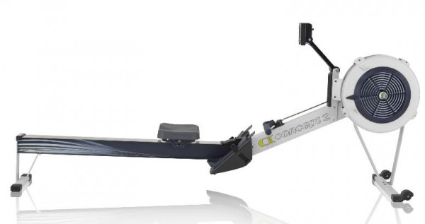 Concept2 Modell D Indoor Rower mit PM5 Farbe Lichtgrau