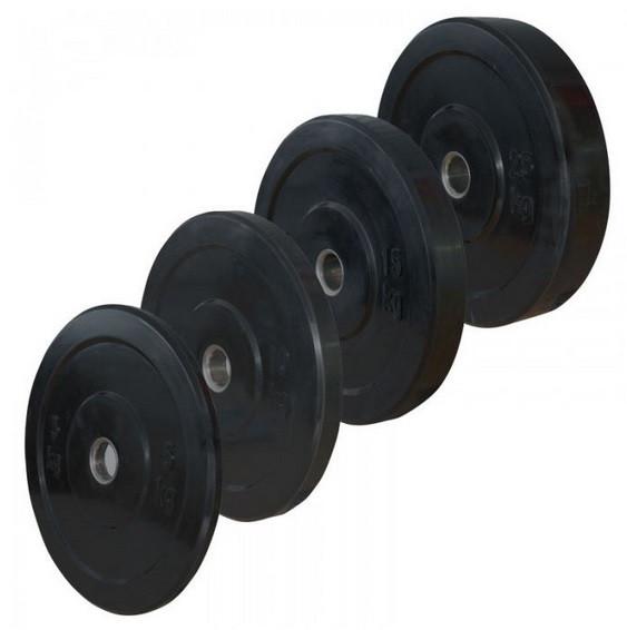 Bumper Plates, 51mm Set 2 x 10 / 2 x15 / 2 x 20 / 2 x25 kg