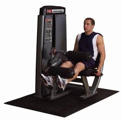 Body-Solid Pro Dual Beinstrecker -und Beugermaschine Gewichtsblock 95 kg