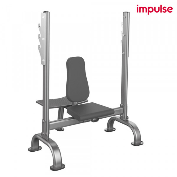 Impulse Fitness Schulter-Drückerbank mit Helfer-Plattform IT-31