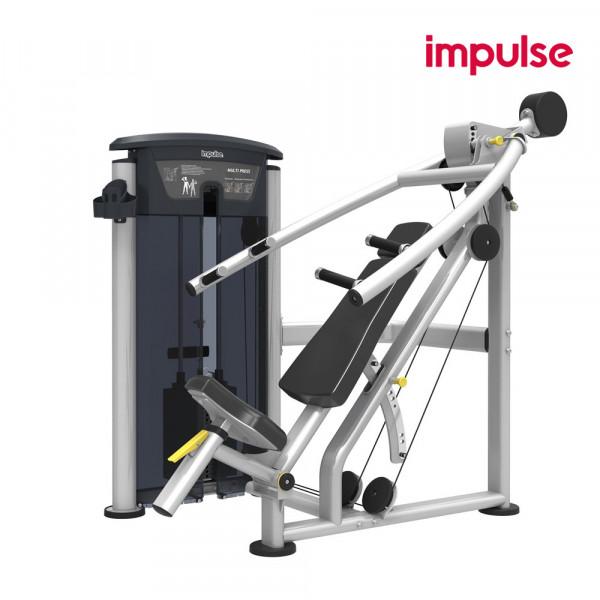 Impulse Fitness IT9529 Brust- / Schrägbrust- / Schulterpresse ( 106 kg )