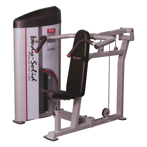 Body-Solid Pro Club S2 Schulter-Presse S2SP (140 kg)